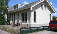 Eetlokaal het Schoolhuis met lekker terras